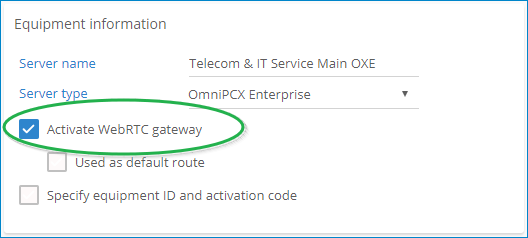 VoIP calling: Installation guide [WebRTC Gateway] – Rainbow